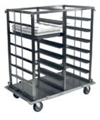 Heavy Duty Double & Triple Section Racks For Hospital Trays