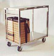 S/S Heavy Duty Cart For Insulated Trays